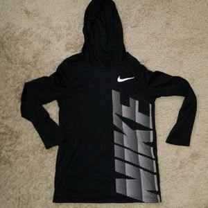 Boys Nike Dri-fit long sleeve tee